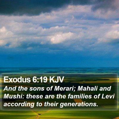 Exodus 6:19 KJV Bible Verse Image