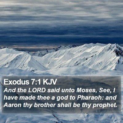 Exodus 7:1 KJV Bible Verse Image
