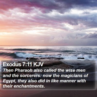 Exodus 7:11 KJV Bible Verse Image