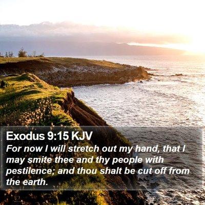 Exodus 9:15 KJV Bible Verse Image