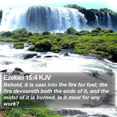 Ezekiel 15:4 KJV Bible Verse Image