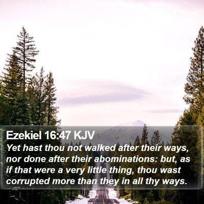Ezekiel 16:47 KJV Bible Verse Image