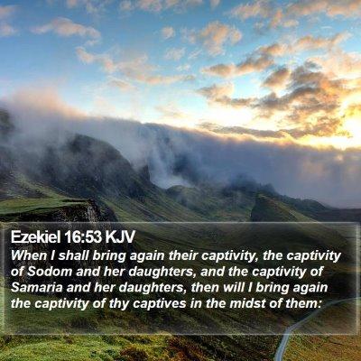Ezekiel 16:53 KJV Bible Verse Image