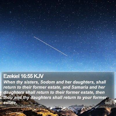 Ezekiel 16:55 KJV Bible Verse Image