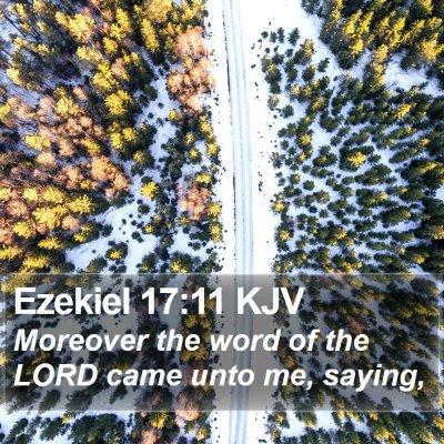 Ezekiel 17:11 KJV Bible Verse Image