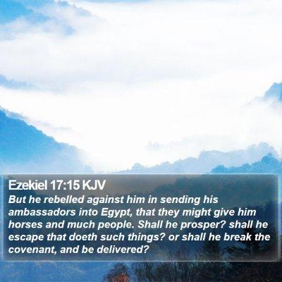 Ezekiel 17:15 KJV Bible Verse Image