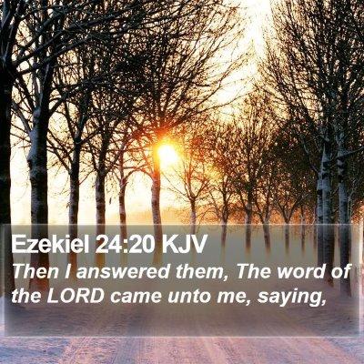 Ezekiel 24:20 KJV Bible Verse Image