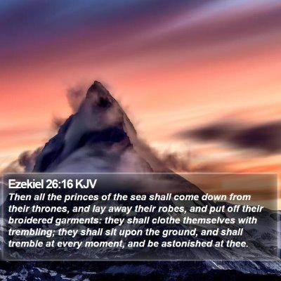 Ezekiel 26:16 KJV Bible Verse Image