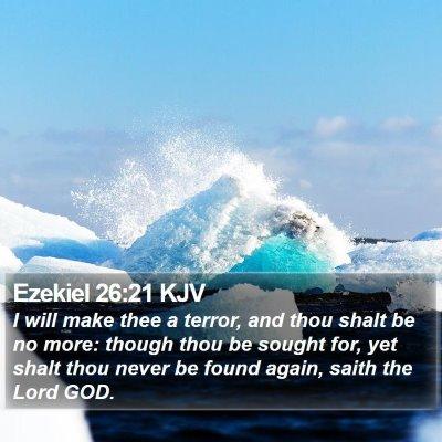 Ezekiel 26:21 KJV Bible Verse Image