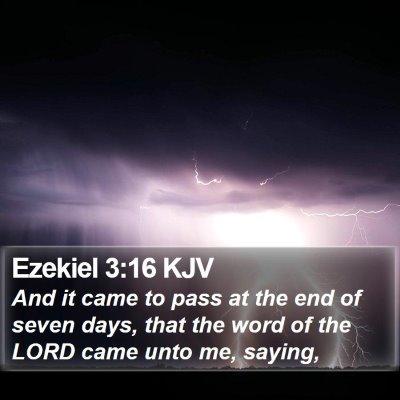 Ezekiel 3:16 KJV Bible Verse Image