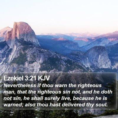 Ezekiel 3:21 KJV Bible Verse Image