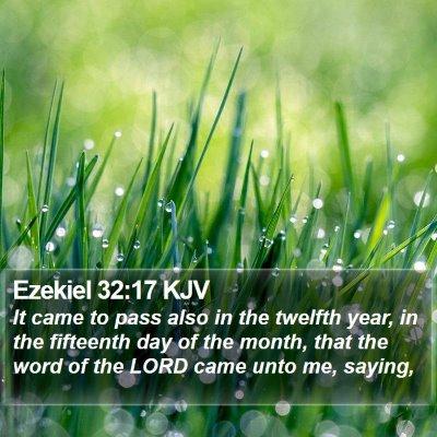 Ezekiel 32:17 KJV Bible Verse Image
