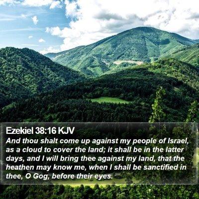 Ezekiel 38:16 KJV Bible Verse Image