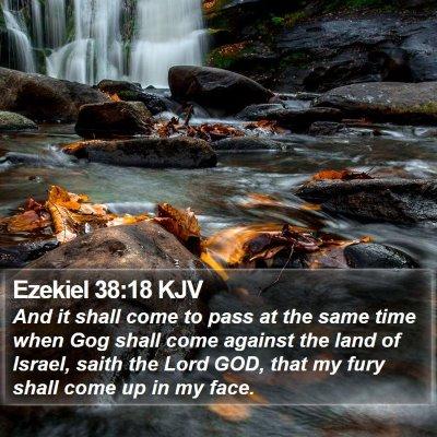 Ezekiel 38:18 KJV Bible Verse Image