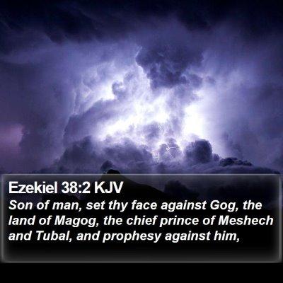 Ezekiel 38:2 KJV Bible Verse Image