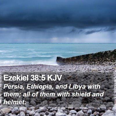 Ezekiel 38:5 KJV Bible Verse Image