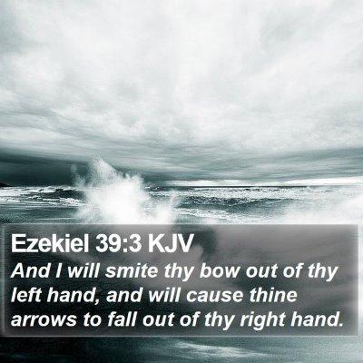 Ezekiel 39:3 KJV Bible Verse Image