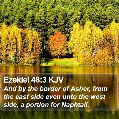 Ezekiel 48:3 KJV Bible Verse Image