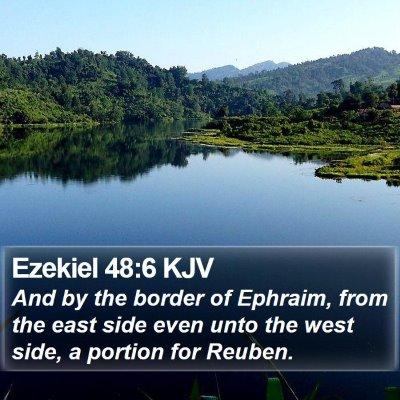 Ezekiel 48:6 KJV Bible Verse Image
