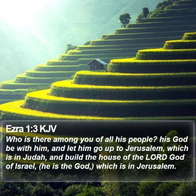 Ezra 1:3 KJV Bible Verse Image