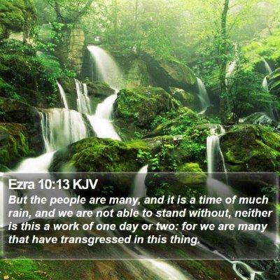 Ezra 10:13 KJV Bible Verse Image