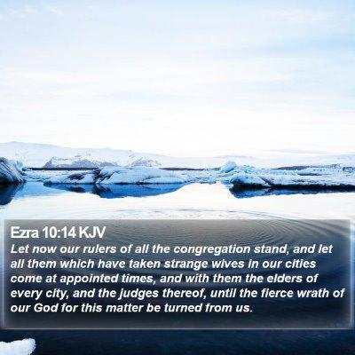 Ezra 10:14 KJV Bible Verse Image