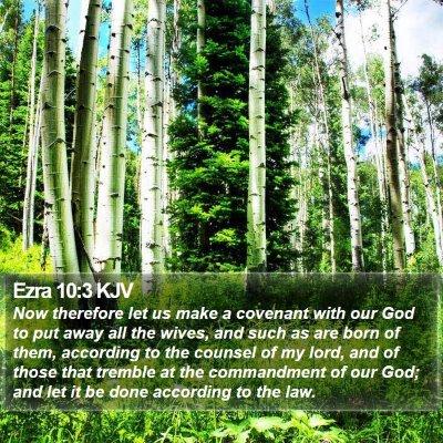 Ezra 10:3 KJV Bible Verse Image