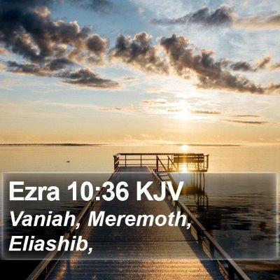 Ezra 10:36 KJV Bible Verse Image