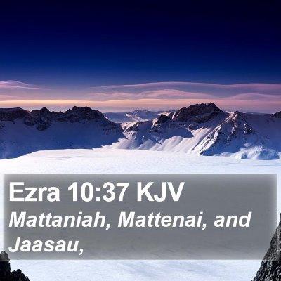 Ezra 10:37 KJV Bible Verse Image