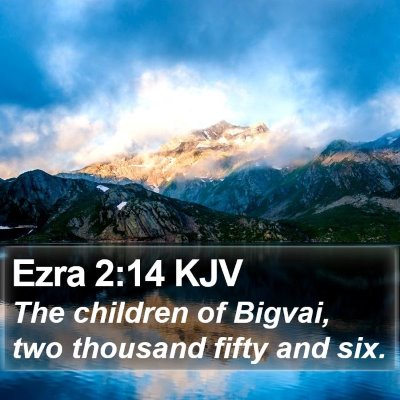 Ezra 2:14 KJV Bible Verse Image