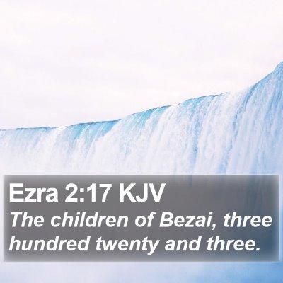 Ezra 2:17 KJV Bible Verse Image