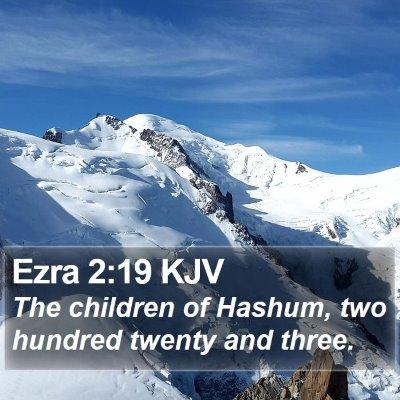 Ezra 2:19 KJV Bible Verse Image