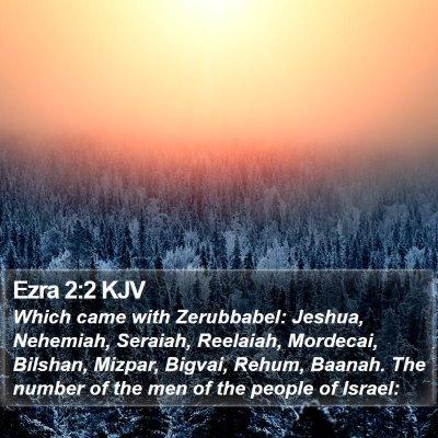 Ezra 2:2 KJV Bible Verse Image