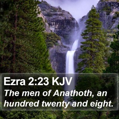 Ezra 2:23 KJV Bible Verse Image