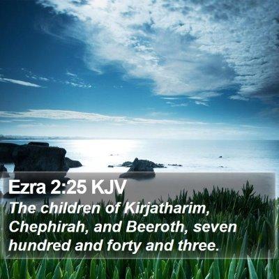 Ezra 2:25 KJV Bible Verse Image