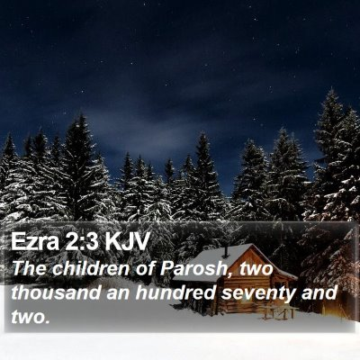 Ezra 2:3 KJV Bible Verse Image
