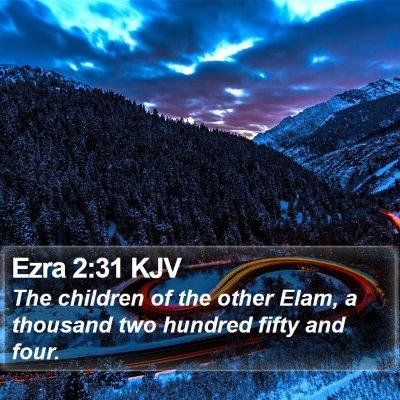 Ezra 2:31 KJV Bible Verse Image