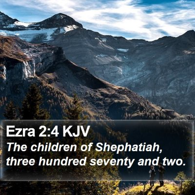 Ezra 2:4 KJV Bible Verse Image
