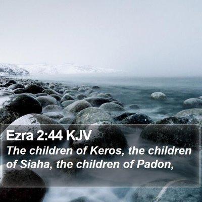 Ezra 2:44 KJV Bible Verse Image