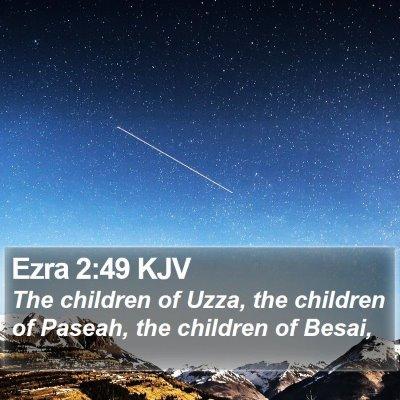 Ezra 2:49 KJV Bible Verse Image