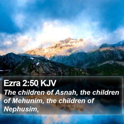 Ezra 2:50 KJV Bible Verse Image