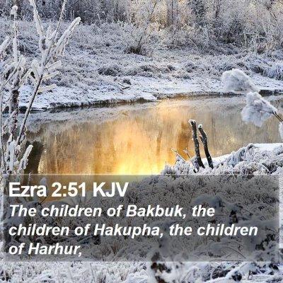 Ezra 2:51 KJV Bible Verse Image