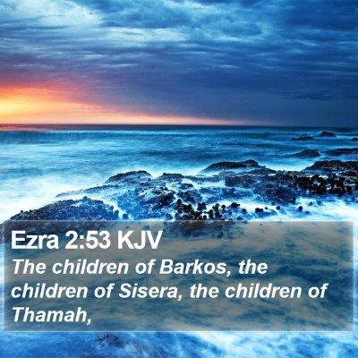 Ezra 2:53 KJV Bible Verse Image