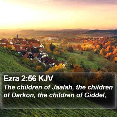 Ezra 2:56 KJV Bible Verse Image