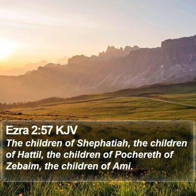Ezra 2:57 KJV Bible Verse Image