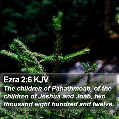 Ezra 2:6 KJV Bible Verse Image