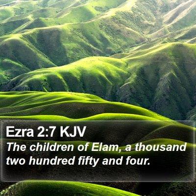 Ezra 2:7 KJV Bible Verse Image