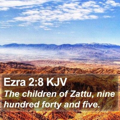 Ezra 2:8 KJV Bible Verse Image
