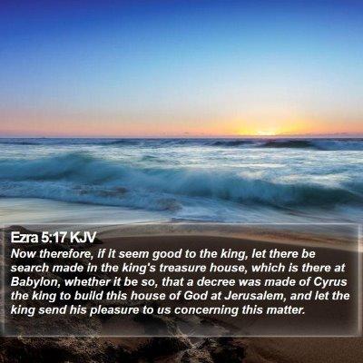 Ezra 5:17 KJV Bible Verse Image