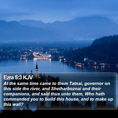 Ezra 5:3 KJV Bible Verse Image